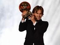Sự thống trị của Ronaldo - Messi đã chấm dứt, Quả bóng vàng 2018 thuộc về Modric