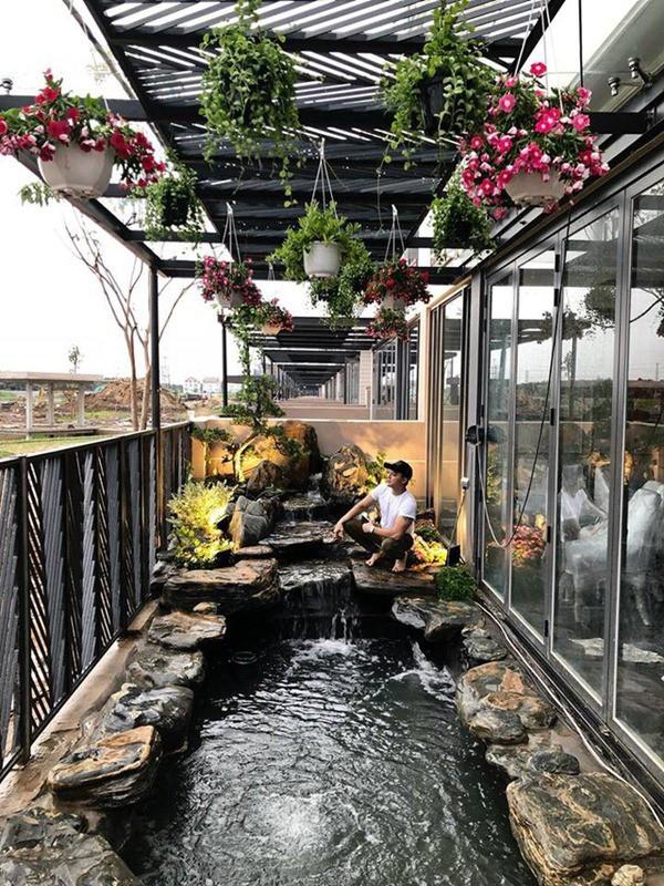 Cuộc sống giàu có trong 2 căn biệt thự xa hoa, riêng hồ cá đã hơn 1 tỷ của Cao Thái Sơn-7