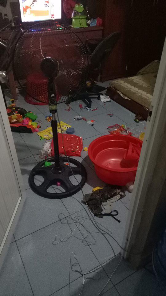 Vắng nhà 2 ngày, vợ trẻ bàng hoàng với kết quả chồng để nhà cửa như bãi rác với lý do không phải osin-2