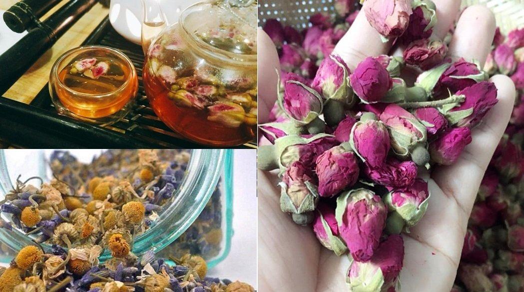Trà hoa khô: Nhập nhèm nguồn gốc, khó kiểm soát chất lượng-1