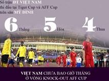 Infographic: ĐT Việt Nam chưa bao giờ thắng bán kết AFF Cup ở Mỹ Đình