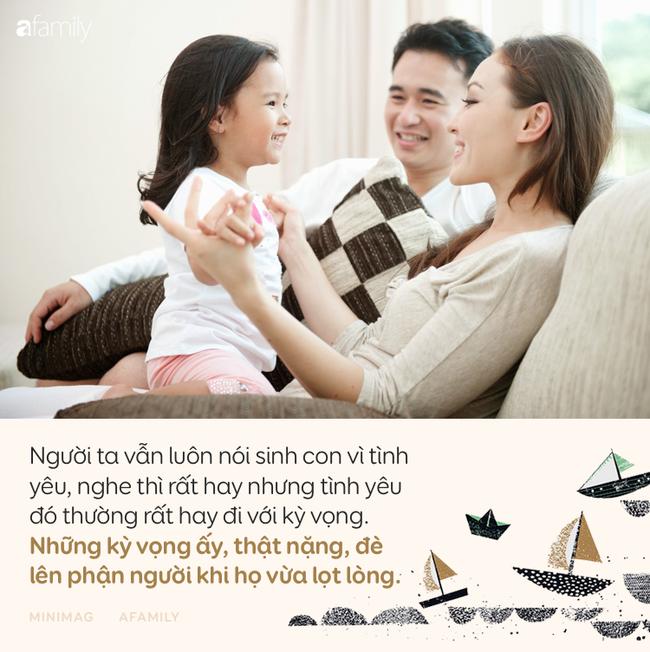 Nói yêu vô điều kiện, nhưng dường như cha mẹ chưa từng thôi mong cầu và đặt gánh nặng báo đáp lên vai con-5