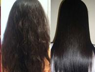 Lấy nửa quả chuối làm theo cách này tóc gãy rụng xơ rối nặng đến mấy cũng khỏi hoàn toàn