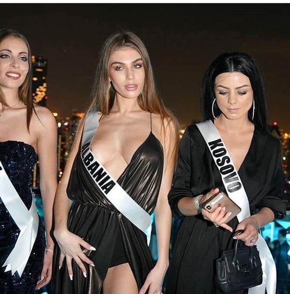 Miss Universe: HHen Niê nổi bật, Hoa hậu Albania bị chê vì khoe thân-4