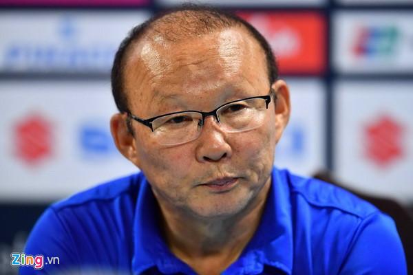 HLV Park Hang Seo nhắc tuyển Việt Nam nhớ bài học thất bại năm 2014-1