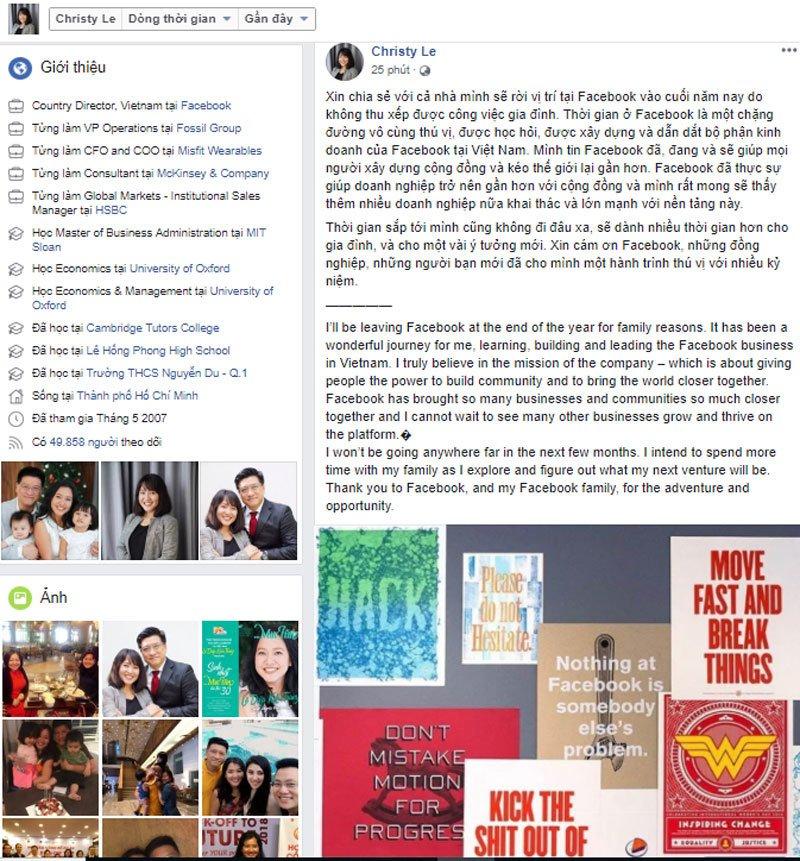 Lê Diệp Kiều Trang, kiều nữ nổi tiếng bậc nhất Việt Nam rời Facebook-1