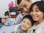 Chồng sắp cưới rất yêu thương con riêng của Hoàng Linh, còn nữ MC đối xử với con riêng của Mạnh Hùng như thế nào?-12