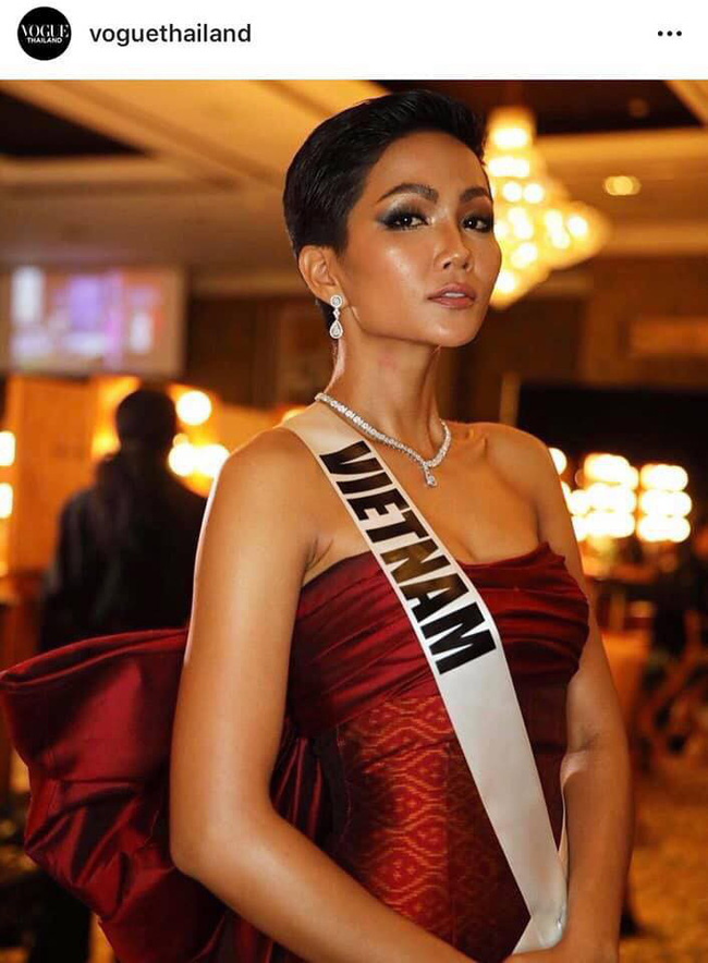 HHen Niê lại làm khuynh đảo Vogue Thái với nhan sắc không đụng hàng-5
