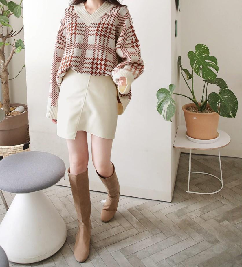 Diện mãi áo len trơn cũng chán, đổi sang áo len họa tiết mặc vừa đẹp lại chẳng lo lỗi mốt-8