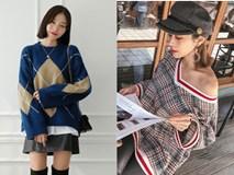 Diện mãi áo len trơn cũng chán, đổi sang áo len họa tiết mặc vừa đẹp lại chẳng lo lỗi mốt