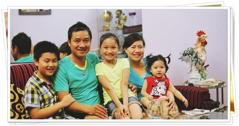 Không chỉ con gái xinh xuất sắc, vợ tươi như hoa của danh thủ Hồng Sơn cũng gây chú ý-18