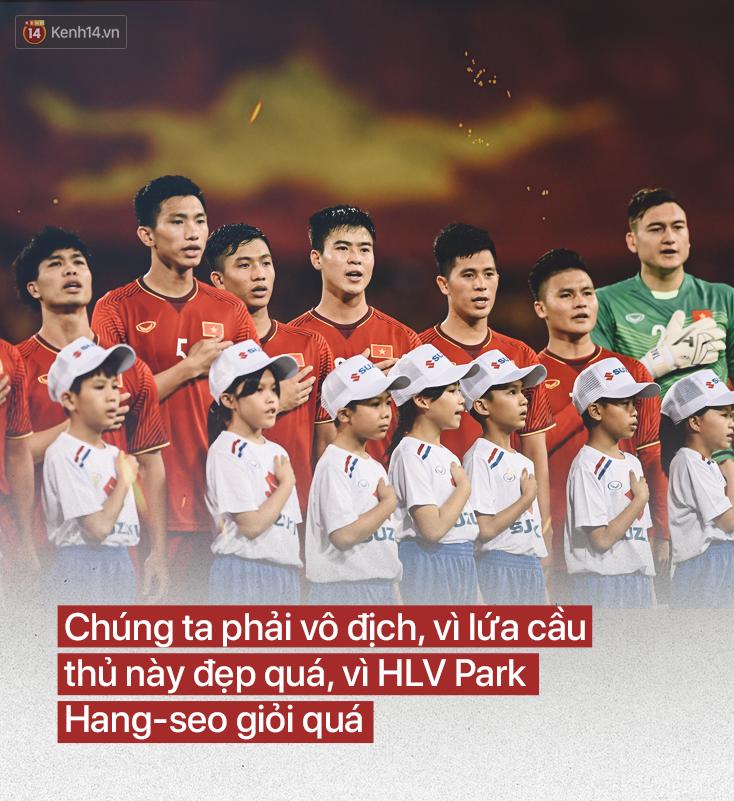 Đội tuyển Việt Nam: Vô địch, cần phải vô địch-3