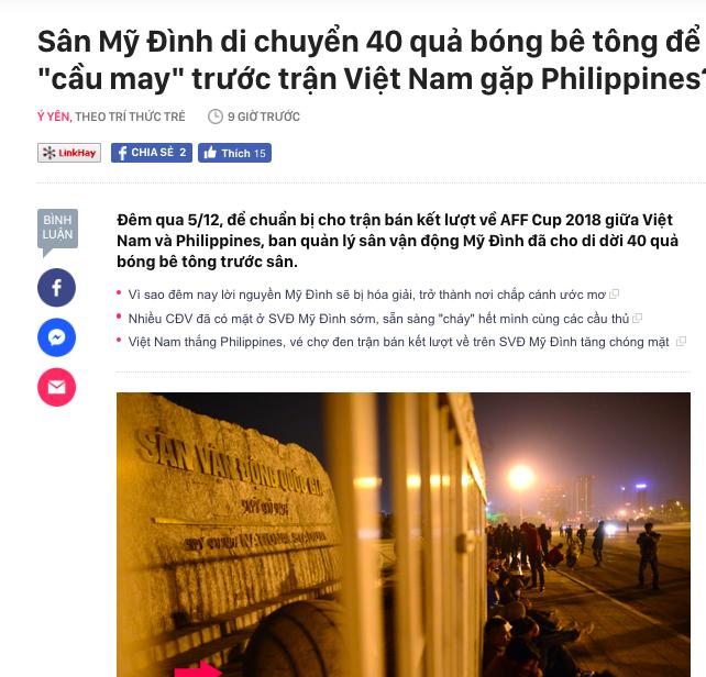 Tuyển Việt Nam thoát dớp sân Mỹ Đình, CĐM sôi sục truy tìm người tư vấn chuyển 40 bóng bê tông để nhờ phá ế-2