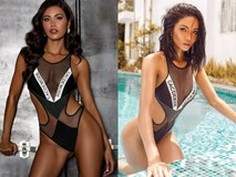 Pha đụng hàng bỏng mắt nhất Vbiz: Minh Tú và H'Hen Niê đọ body cực phẩm với cùng một thiết kế bikini táo bạo
