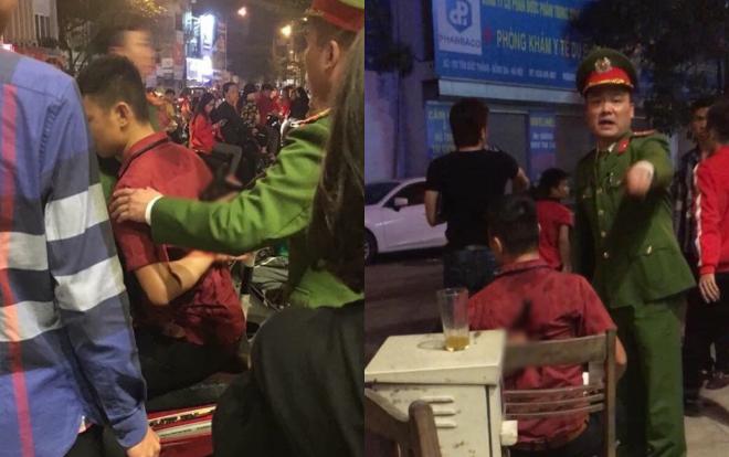 Hai nhóm người xảy ra ẩu đả sau màn ăn mừng chiến thắng đội tuyển Việt Nam, nam thanh niên bị đâm dao găm vào người-2