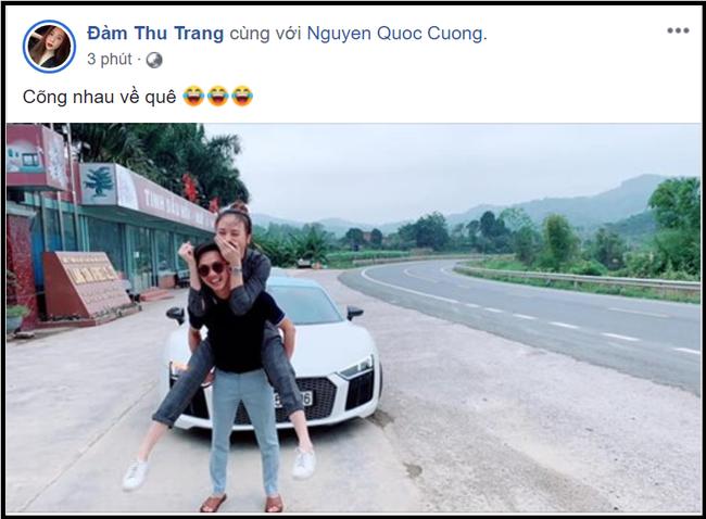 Xem xong bán kết AFF Cup, Cường Đô La cõng Đàm Thu Trang về quê, dân mạng đoán ngay: Đi hỏi cưới-4