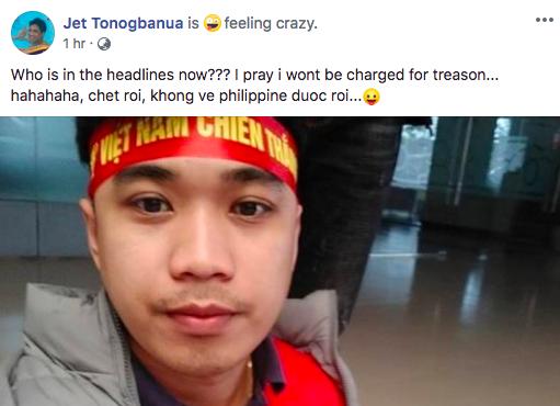 Thầy giáo điển trai người Philippines gây sốt vì cổ vũ cho đội Việt Nam: Chết rồi, tôi không còn đường về nước!-4