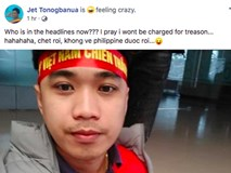 Thầy giáo điển trai người Philippines gây sốt vì cổ vũ cho đội Việt Nam: Chết rồi, tôi không còn đường về nước!