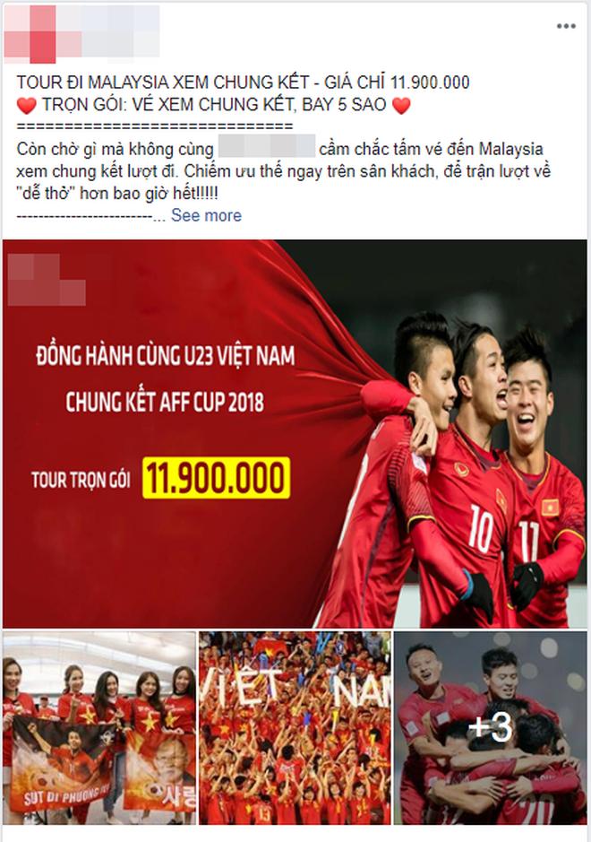 Tour đi Malaysia cổ vũ đội tuyển Việt Nam trong trận chung kết với mức giá lên đến 16 triệu/người-2