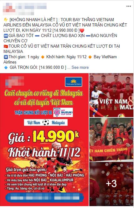 Tour đi Malaysia cổ vũ đội tuyển Việt Nam trong trận chung kết với mức giá lên đến 16 triệu/người-4