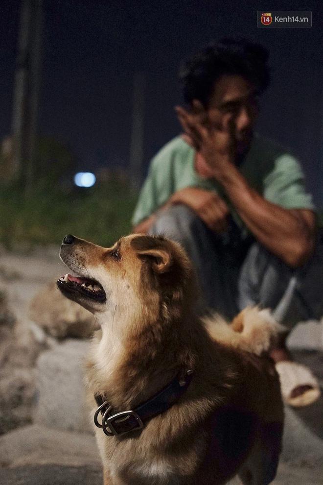 Điều kỳ diệu đã xuất hiện: Chú chó mù trở về bên anh đánh giày câm sau hơn nửa tháng mất tích-5