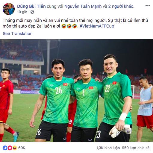 Bùi Tiến Dũng khiến fangirl rụng tim với phát ngôn: Sự thật là cứ làm thủ môn thì auto đẹp trai-2