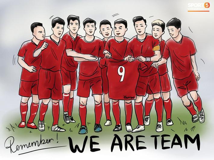 Bộ tranh chibi cute hết cỡ về hành trình của tuyển Việt Nam tại AFF Cup 2018-8