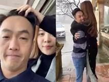 Cường Đô La ôm chặt Đàm Thu Trang, vui đùa hết cỡ ở quê nhà bạn gái