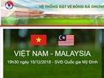 Tuyển Việt Nam sẽ nhận thưởng 1 tỷ đồng nếu ghi bàn vào lưới Malaysia-2