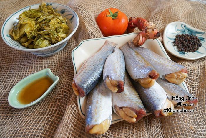 Trời lạnh tái tê làm ngay nồi cá đối kho dưa đưa cơm phải biết-1