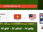 Hệ thống quá tải, báo hết vé chung kết AFF Cup đợt 1 chỉ sau 2 phút-3