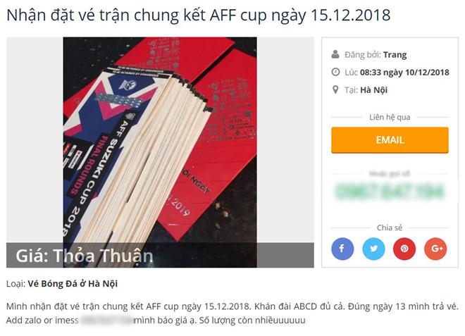 Vé trận Việt Nam vs Malaysia được rao đắt gấp 10 trên chợ đen-2