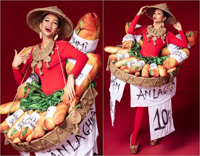 Bị chê tơi tả nhưng Bánh Mì của HHen Niê đã lọt Top 4 trang phục hấp dẫn nhất-5