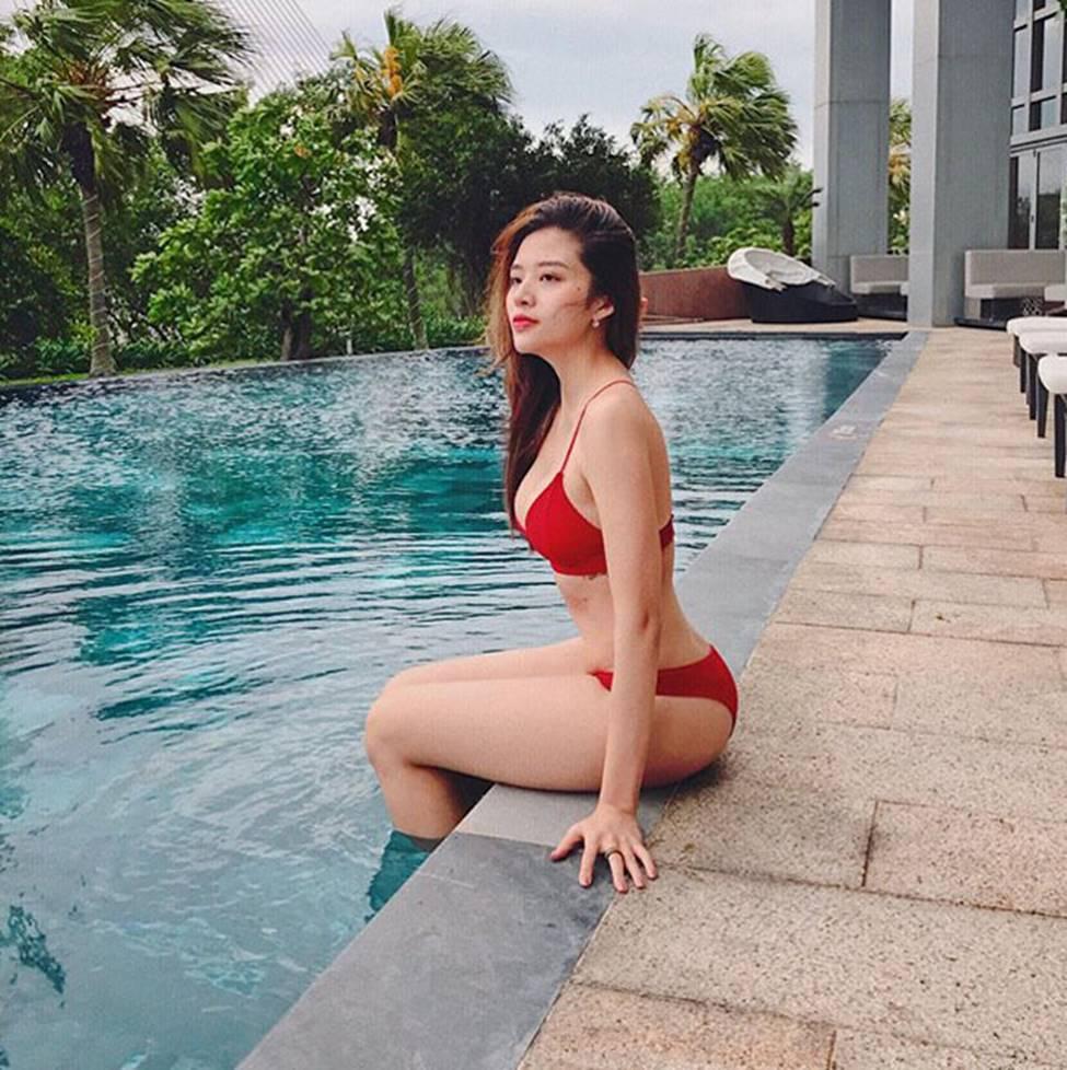 MC chân dài VTV, Hoa hậu Đông Nam Á dự đoán trận VN - Malaysia-15