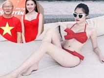 MC chân dài VTV, Hoa hậu Đông Nam Á dự đoán trận VN - Malaysia