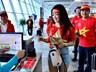 Người hâm mộ lên đường sang Malaysia cổ vũ đội tuyển Việt Nam