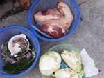 Phát hiện gà thối tại trường mầm non vướng nghi án đồ ăn có sán-1