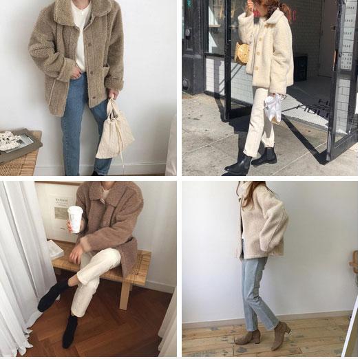 Áo khoác Teddy - chiếc áo khoác mềm mịn như gấu bông chính là item ấm nhất, dễ thương nhất mà bạn nên sắm đông này-4