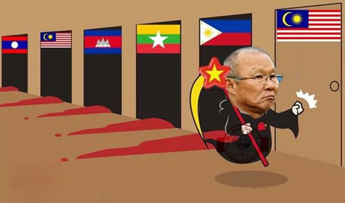 Ảnh chế các nhà tiên tri hài hước trước giờ bóng lăn trận chung kết lượt đi Việt Nam - Malaysia gây sốt-3