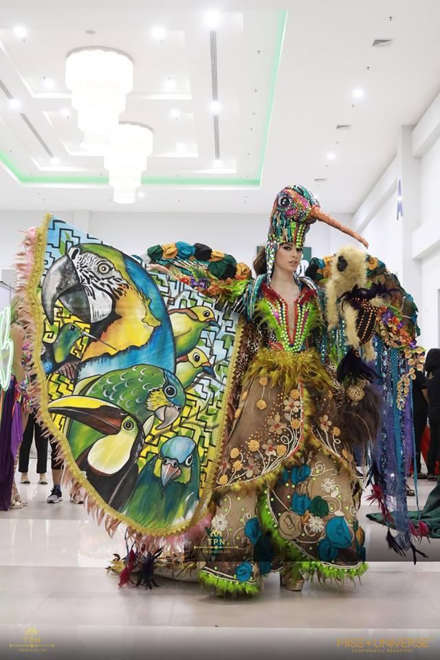 Ngoài Bánh mì của HHen Niê, đây là những bộ trang phục dân tộc chặt chém nhất sân khấu Miss Universe 2018-11