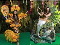 goài Bánh mì của H'Hen Niê, đây là những bộ trang phục dân tộc 'chặt chém' nhất sân khấu Miss Universe 2018
