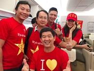 Nhiều nghệ sĩ đã đến Malaysia cổ vũ đội tuyển Việt Nam