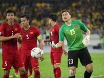 Xúc động hình ảnh tuyển Việt Nam động viên nhau trước và sau trận chung kết lượt đi AFF Cup 2018
