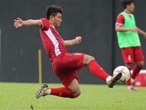 Đức Chinh không tập hồi phục cùng đội hình đá chính ở trận hòa Malaysia