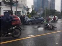 Va chạm giao thông giữa lúc trời mưa rét, một nạn nhân tử vong tại chỗ