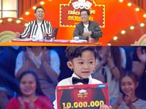 Thí sinh 6 tuổi xin phép được 'chửi' Trấn Thành, Trường Giang ở Thách thức danh hài