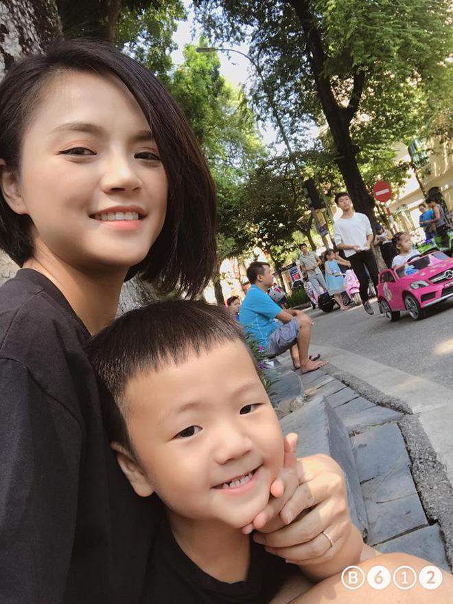 Cuộc sống của Thu Quỳnh và con trai ra sao sau ồn ào ly hôn với Chí Nhân?-1