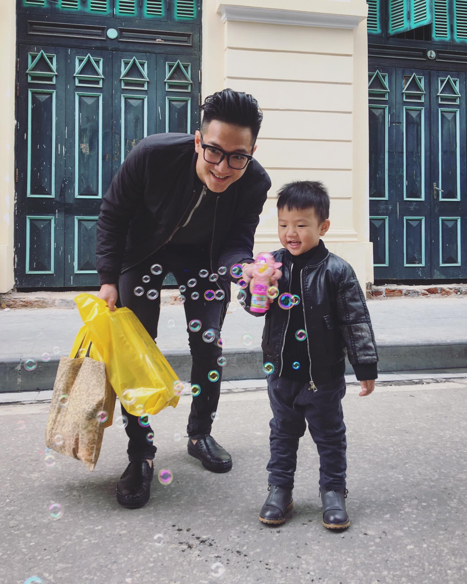 Tố Thu Quỳnh gây khó dễ trong việc gặp con, Chí Nhân đối xử với con trai thế nào sau khi ly hôn?-14