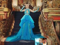Cận cảnh chiếc váy lộng lẫy Công Trí thiết kế cho Katy Perry trong 24 tiếng