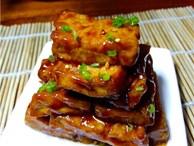 Cách chế biến món đậu phụ chua ngọt giòn
